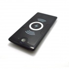 JRK-1688 Qi Wireless 6000mAh Mobile Power Source Bank - Black