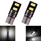 T10 2W 96lm 4 x SMD 5630 LED White Light Car Lamps - (DC 12V / 2 PCS)
