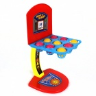 707-17 Pinball Shooting Game Set - amarillo + azul + rojo + Gris