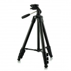 DSTE DT02019 Retractable Tripod w/ Three-dimensional Head for Digital Camera / Camcorder - Black