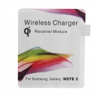 JSQ-002 Qi Wireless Charging Receiver Module for Samsung Galaxy Note 2 N7100 - Multicolored