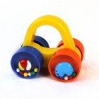 Car Style Plastic Bell - Yellow + Orange + Blue
