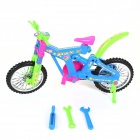 Assembling Plastic Bicycle Toy