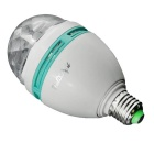 YouOkLight YK0401 360 Rotatable E27 3W RGB colorido LED bulbo (85-260V)