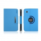 ENKAY ENK-7021 360 Degree Rotation Protectective Case w/ Holder for Samsung P3100 / P3110 - Blue