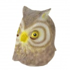 SYVIO Night Owl Mask - Brown + Amarelo
