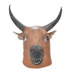 SYVIO Cattle Mask - Brown + Black + White