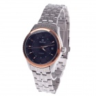 Daybird 3790 Stainless Steel Automatic Herren-Armbanduhr + Simple Calendar - Silber + Schwarz + Golden