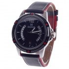 Daybird 3785 Quartz Unisex Wrist Watch w/ Hollow Calendar - Black + Red + White (1 x LR626)