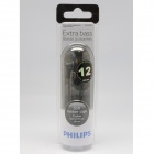 Philips SHE3000BK Earbud Headphones Extra Bass