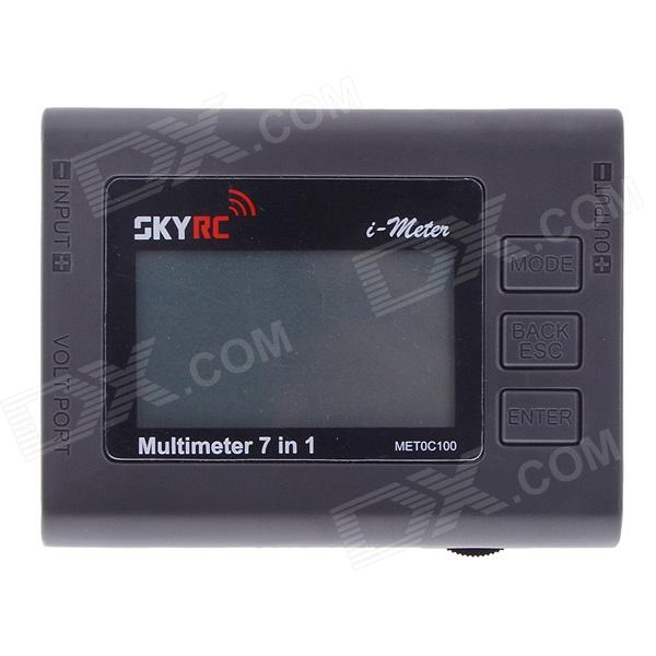 SKYRC i-meter Multimeter 7 in 1 Battery Checker Watt Meter Servo Tester Temperature Gauge