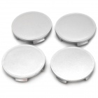 Car Universal Wheel Covers Set - Silver