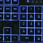 AULA BE FIRE 3 Color Backlit USB Wired 104-Key Gaming Keyboard - Black