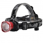 SingFire SF-611C Cree XM-L T6 600LM Zoomable Big Lamp Rechargeable Headlights + Charger + Battery
