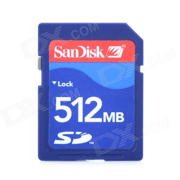 3DA17 SD Memory Card for 3D Printer - Blue (512M)