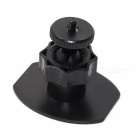 "Bicycle Helmet Mount w/ 3M Adhesive Tape for 1/4"" Camera - Black"