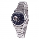 Daybird 3779 Stainless Steel Automatic Men's Wrist Watch - Black+Silver