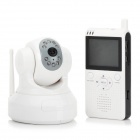 "2.4GHz Wireless Baby Monitor Visual Night Vision Camera with Audio + 2.5"" LCD Receiver"
