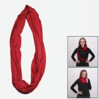 Outdoor Sports Seamless Head Scarf Neckerchief - Red