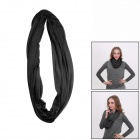 Outdoor Sports Seamless Head Scarf  Neckerchief - Black