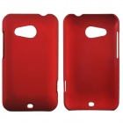 Fashionable Super Thin Protective Glaze PC Back Case for HTC Desire 200 - Wine Red