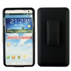 Multifunctional Protective Case w/ Clip, Stand for Samsung Galaxy Note3 - Black