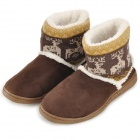 Fawn Warm Women's Snow Boots - Coffee (EU 38/39)