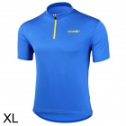 Santic WC02004B Bicycle Cycling Riding Polyester Fiber Short Sleeves Jersey for Men (Size XL)