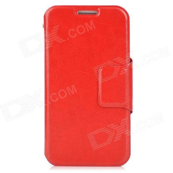 Protective PU Leather Case w/ Card Slots for Samsung i9500 / S4 - Red high quality tin solid solder wire reel spool silver 1mm 15m