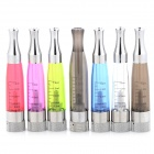 X6S PVC + Stainless Steel Electronic Cigarette Atomizers - Multicolored (7 PCS)
