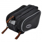Windspeed Bicycle Oxford Cloth Top Bube Bag - Black
