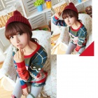 Fashion Christmas Pattern Wool Sweater for Women - Multicolored