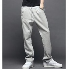 Casual Sport Polyester Pants for Men - Grey (XL)