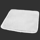 3D Honeycomb Style Ventilation Heat Insulation Car Seat Cushion - White
