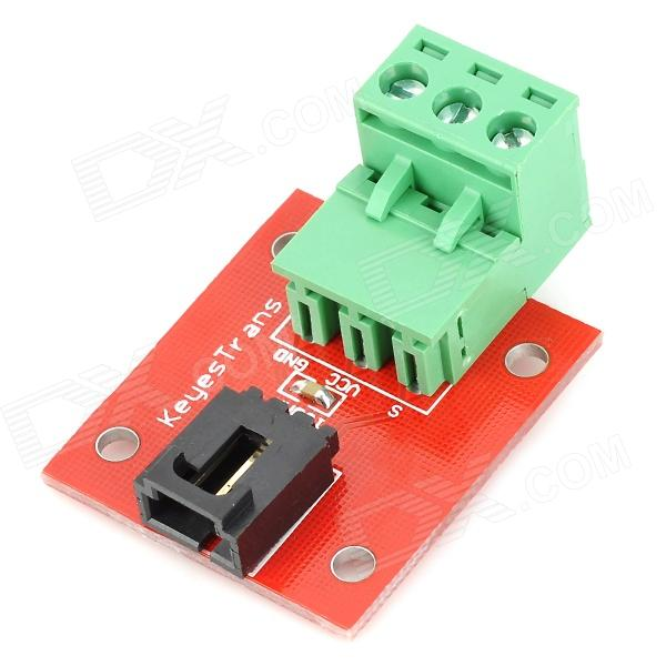 Robotale Analog Digital Sensor Module for Electronic Bricks (Works w/ Official Arduino Products) keyes electronic bricks inclination sensor works w official arduino products red