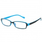 2247 Anti-radiation PC Frame Resin Lens Eyeglasses - Black + Blue