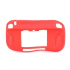 Protective Soft Plastic Case for Wii U - Red