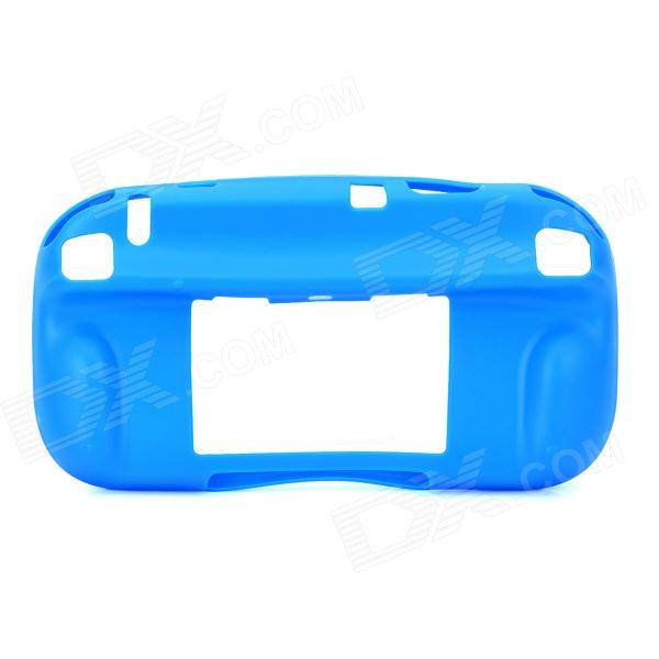 Protective Soft TPU Case for Wii U - Blue surprise wireless gamepad for wii remote controller for nintendo for wii for w ii u 5 colors for choice