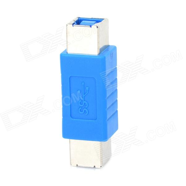 Printer Interface Female to Female Adapter - Blue mutoh vj1604 mainfold mutoh vj1604 printer head cap adapter for mutoh vj1604 solvent ink printer