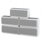 Nail Care Art Buffer / Brilhante / Polir Lixar Blocks - Branco + Grey (5 PCS)
