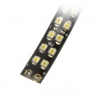 Dual-Row Waterproof 5W 370lm 72-SMD 1210 Cold White Strip