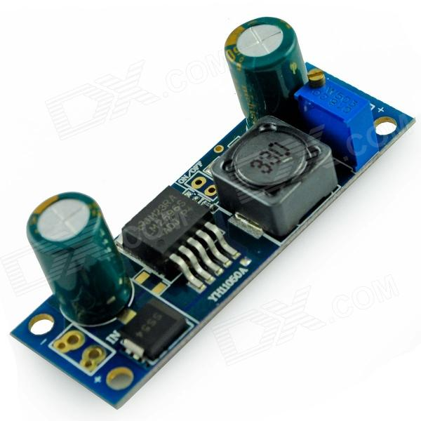 DC4-40V  to DC 1.23-37V Adjustable Voltage Step-down Module - Blue forex b016 6790 b