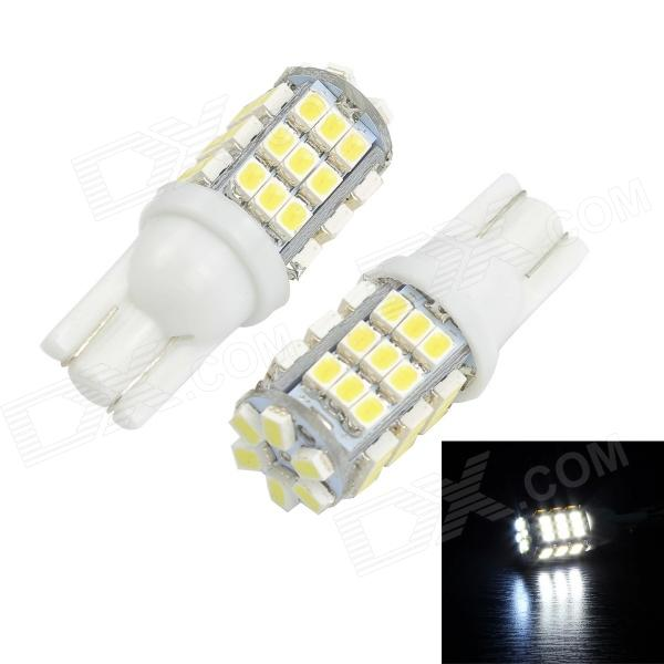 Merdia T10 3W 150lm 42-SMD 1206 LED White Light Canbus Car License Plate Light - (2 PCS / 12V) 2x canbus 3528smd led license plate light number plate lamp car light bulbs for opel vectra c estate 2002 2008 car light source