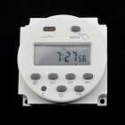 "Jtron 1.8"" LCD Digital Time Switch / Timer Switch Controller - White (AC 220~240V)"