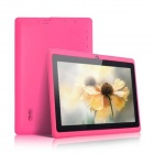 "IRULU AK010 7"" Capacitive Android 4.0.3 Tablet PC w/ 512MB, 4GB ROM, Wi-Fi - Deep Pink + Black"