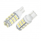 Merdia T10 3W 150lm 28-SMD 1210 LED White Light Canbus Car License Plate Light - (2 PCS / 12V)