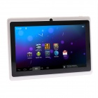"IRULU AK304 7"" Capacitive Android 4.0.3 Tablet PC w/ 512MB RAM, 8GB ROM, Dual-Camera - White + Black"