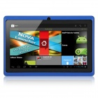 "IRULU AK013 7"" Capacitive Android 4.0.3 Tablet PC w/ 512MB RAM, 4GB ROM, Wi-Fi - Blue + Black"