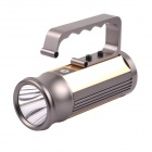 NITEFIRE NFT-14 Cree XM-L T6 680lm 4-Mode Portable Flashlight - Grey + Golden (4 x 18650)