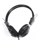 Jeway JH-0808 Stereo Music Gaming Headphones - Black (3.5mm Plug / 200cm-Cable)